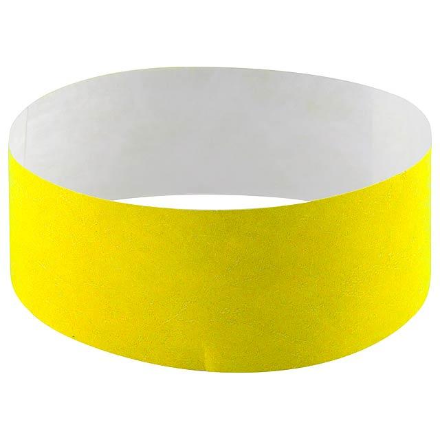 Events náramek - žlutá