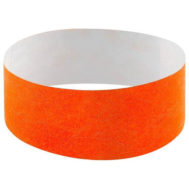 Events náramek - oranžová