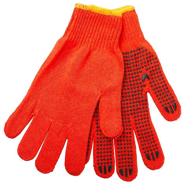 Enox rukavice - oranžová