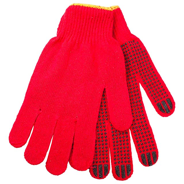 Enox rukavice - červená