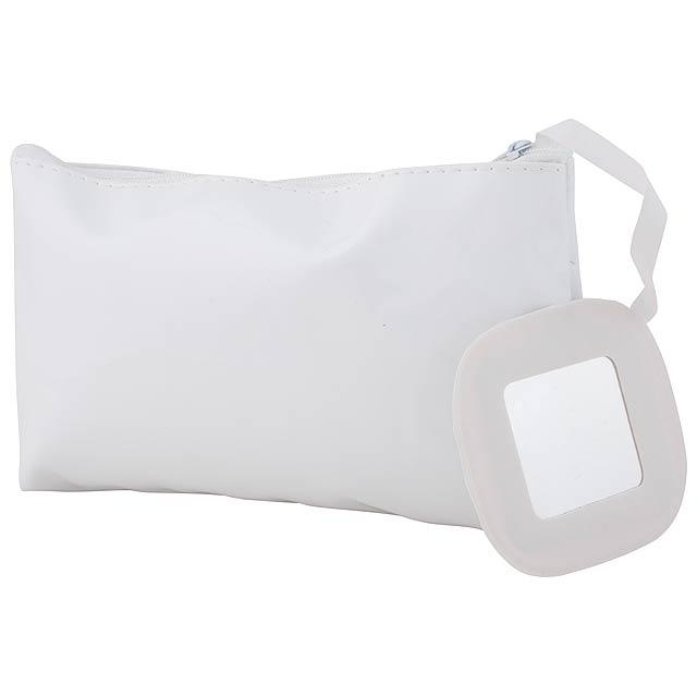 Xan kosmetická taška - bílá