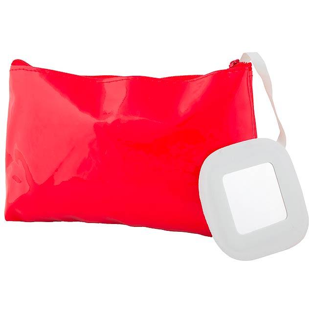 Xan kosmetická taška - červená