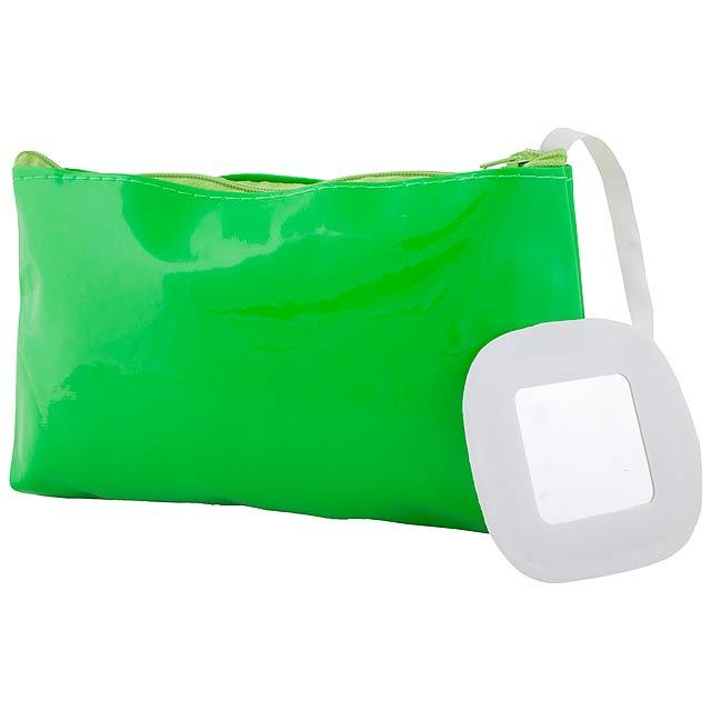 Xan kosmetická taška - zelená