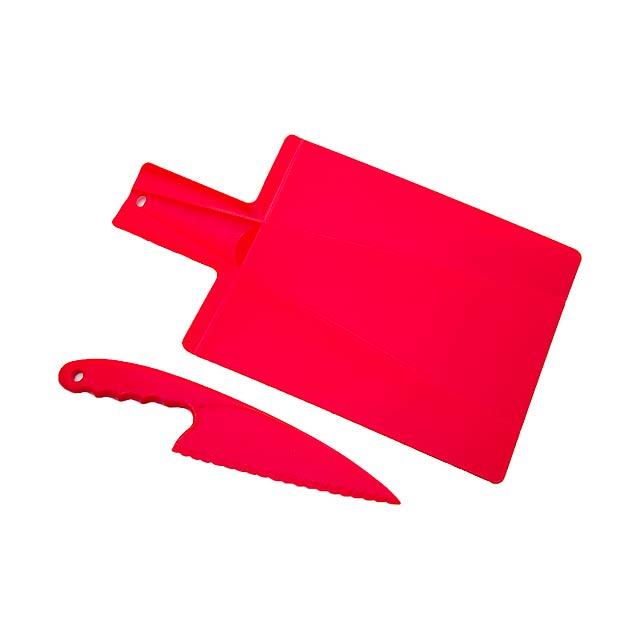 Hiwa kuchyňský set - červená