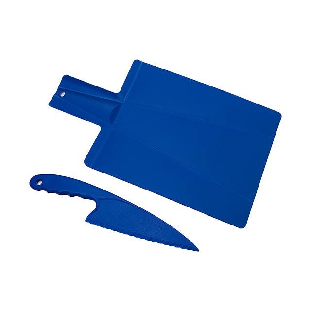 Hiwa kuchyňský set - modrá