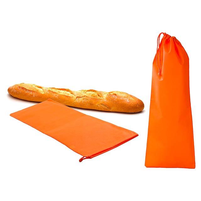 Harin harin sáček na chleba - oranžová