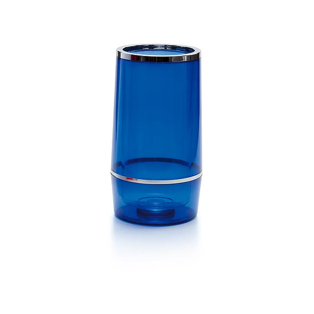 Pusko nádoba na láhve - modrá