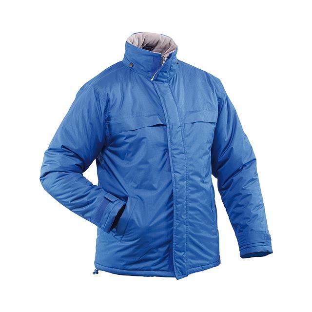 Zylka parka bunda - modrá