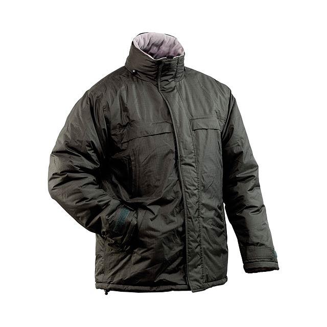 Zylka parka bunda - černá