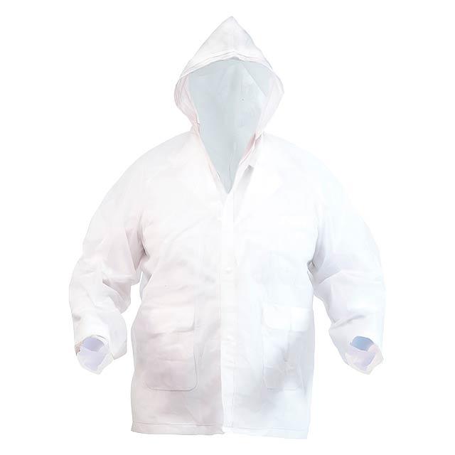 Hydrus pláštěnka - bílá