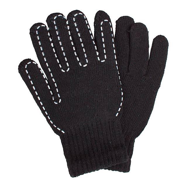Yaco rukavice - černá