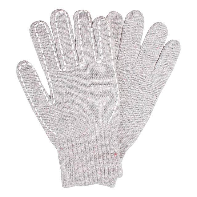 Yaco rukavice - šedá