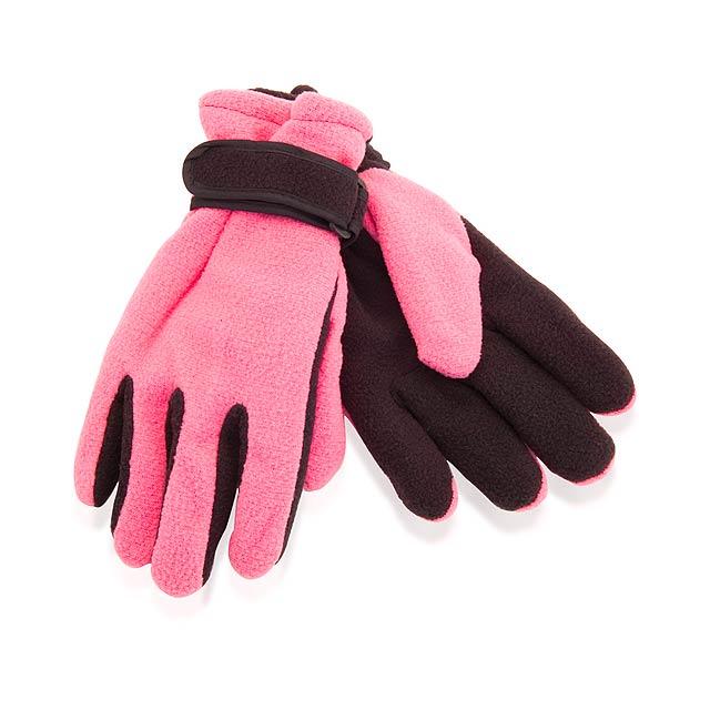Mut zimní rukavice - růžová