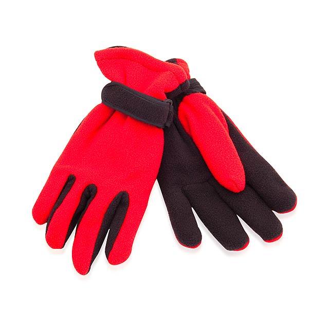 Mut zimní rukavice - červená