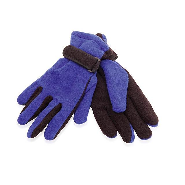 Mut zimní rukavice - modrá