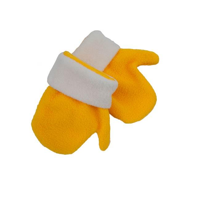 Siku dětské rukavice - žlutá