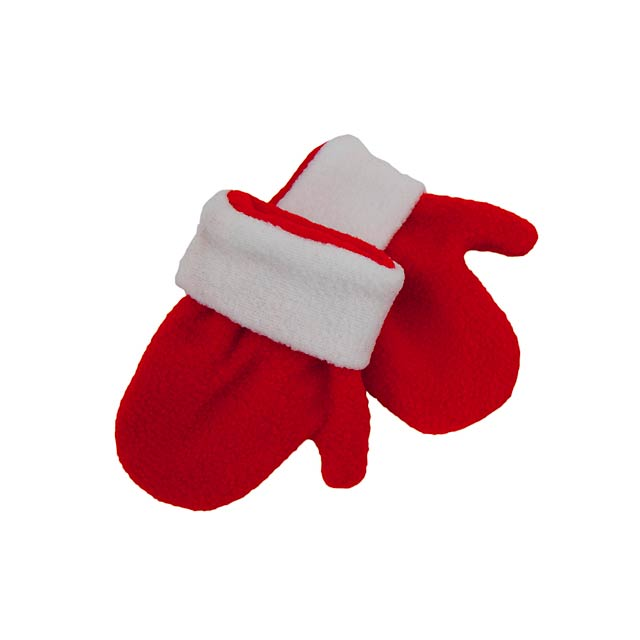 Siku dětské rukavice - červená