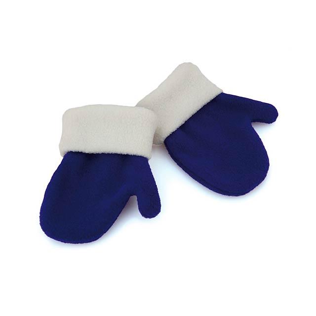 Siku dětské rukavice - modrá