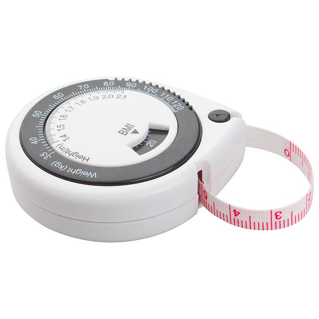 Body tape measure - white
