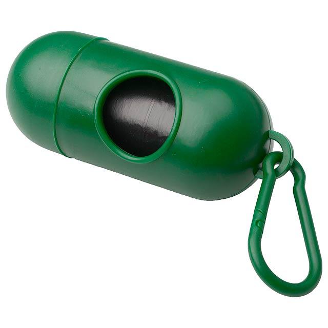 Yoan pytle na psí exkrementy - zelená