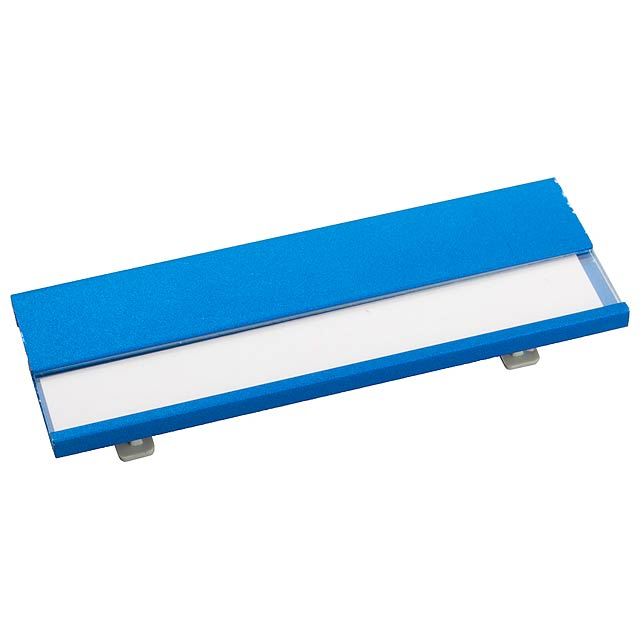 Bindel jmenovka - modrá