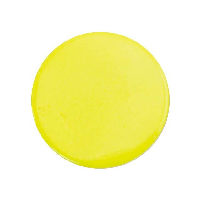 Turmi odznak - žlutá