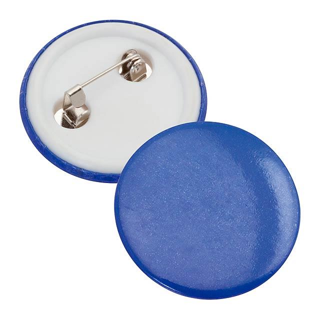 Turmi odznak - modrá