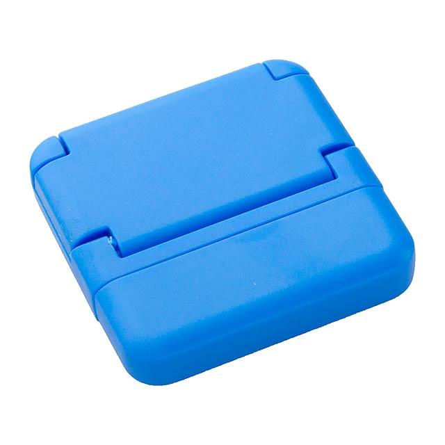 Tout stojan na mobil a čistič displeje - modrá