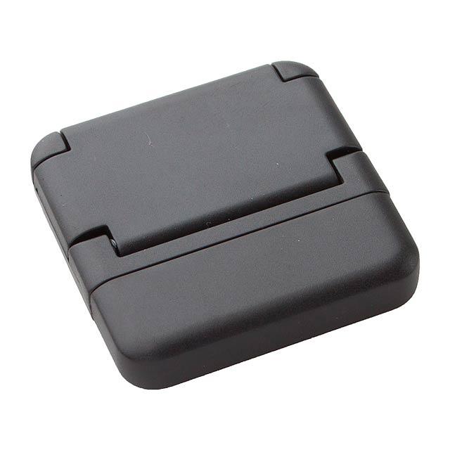 Tout stojan na mobil a čistič displeje - černá