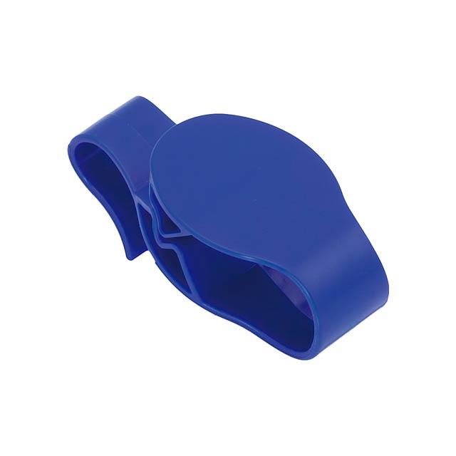 Taker háček na tašku - modrá