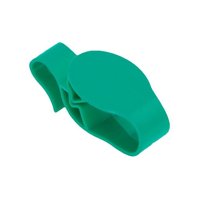 Taker háček na tašku - zelená