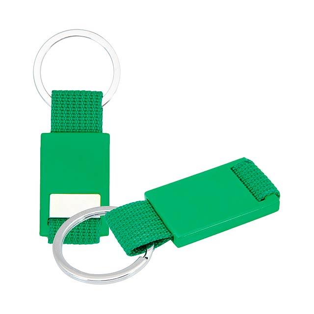Akua přívěšek na klíče - zelená