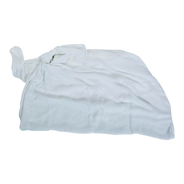 Duma plážový šátek - bílá
