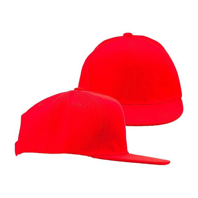 Lorenz basebalová čepice - červená