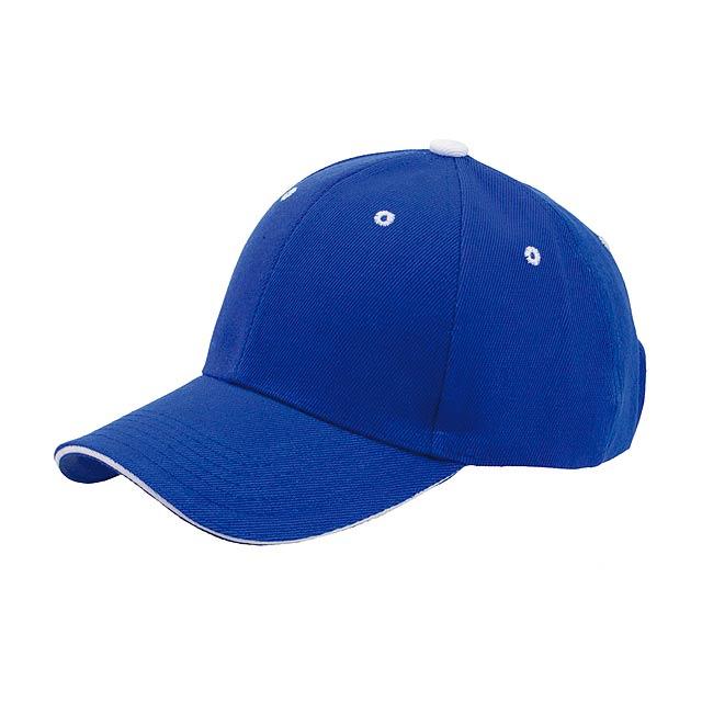 Mision basebalová čepice - modrá