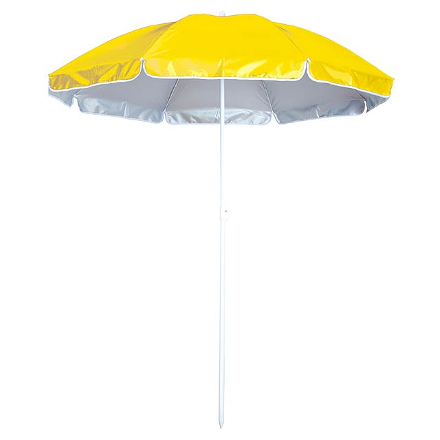 Taner plážový deštník - žlutá