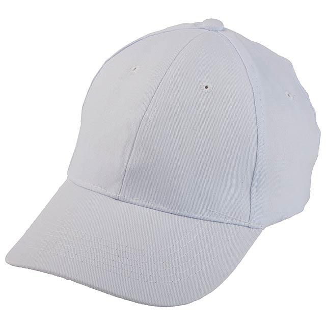 Konlun baseballová čepice - bílá