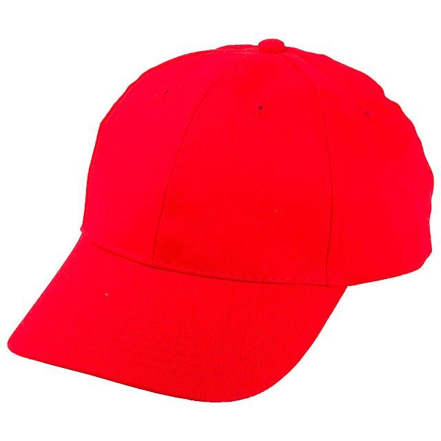Konlun baseballová čepice - červená
