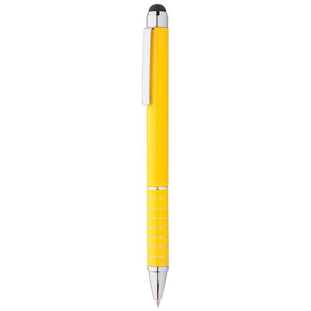 Minox dotykové kuličkové pero - žlutá