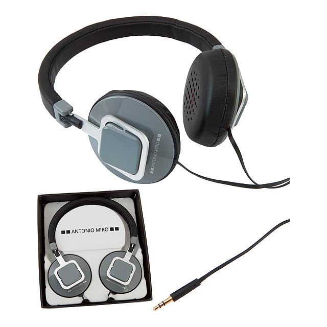 Kelsi sluchátka - šedá