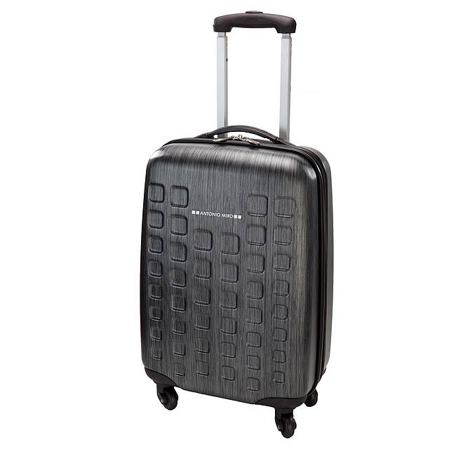 Tugart kufr na kolečkách - černá