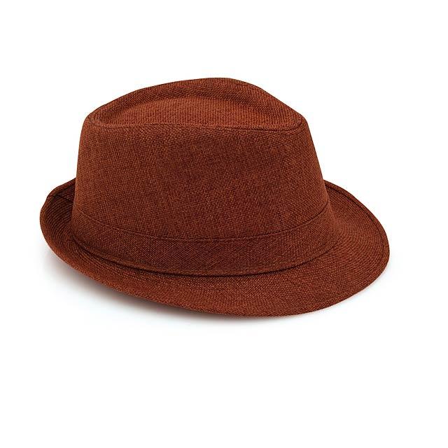 Get klobouk - hnědá