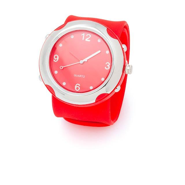 Belex hodinky - červená