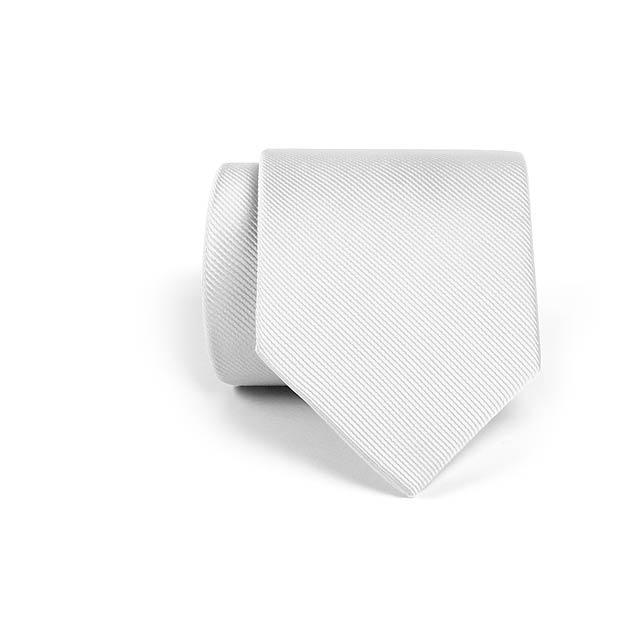 Serq kravata - bílá