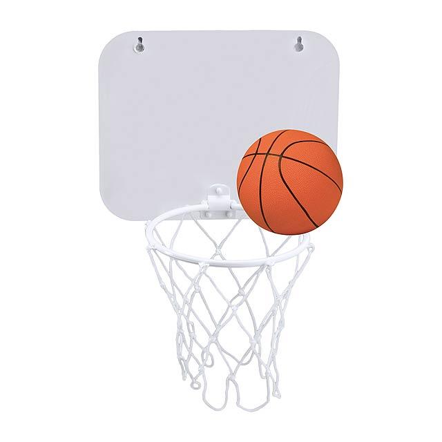 Jordan basketballový koš - bílá