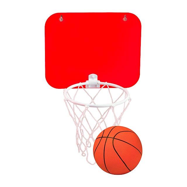 Jordan basketballový koš - červená