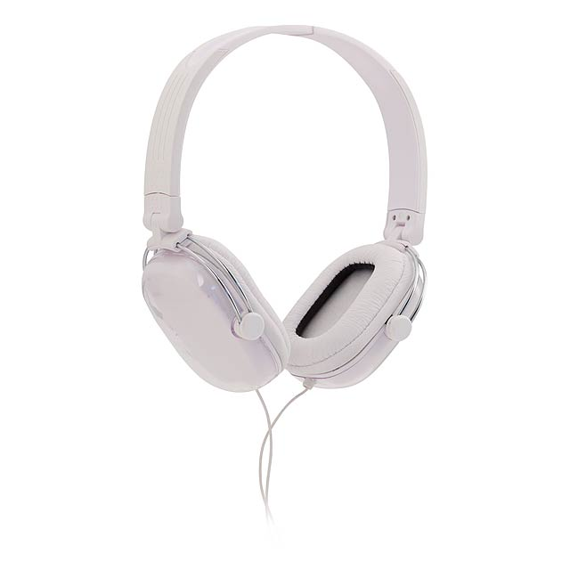 Tabit sluchátka - bílá