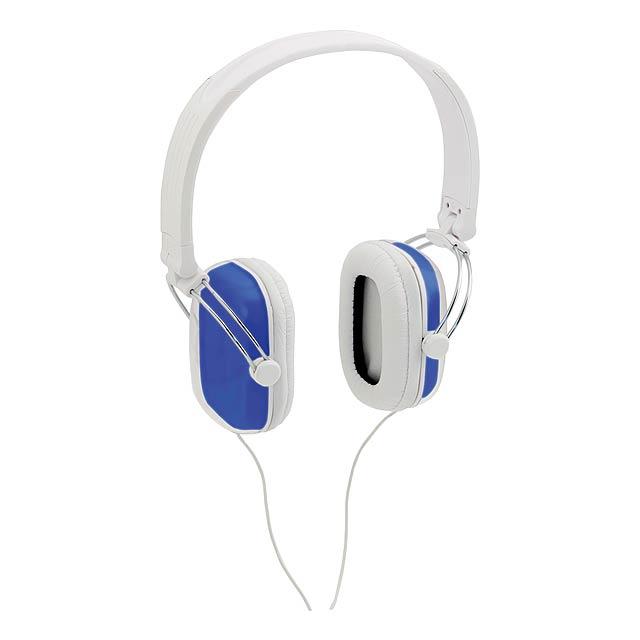 Tabit sluchátka - modrá