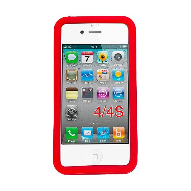Zora pouzdro na iPhone - červená