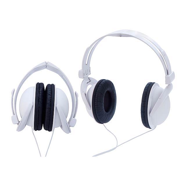 Anser skládací sluchátka - biela
